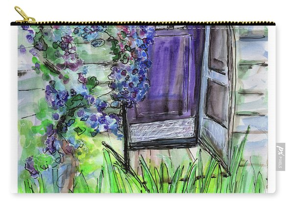 Purple Doorway Carry-all Pouch