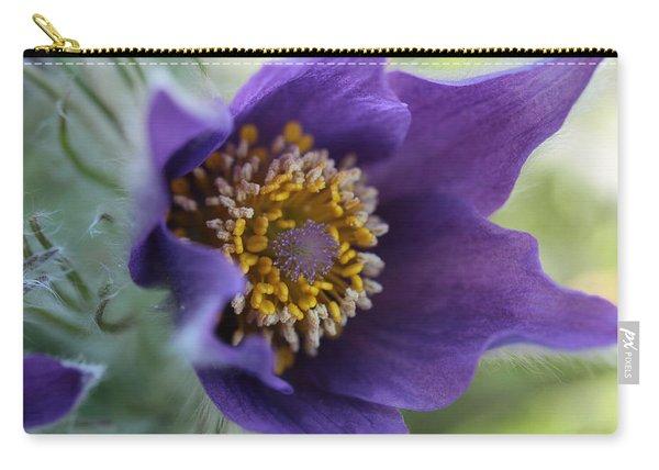 Purple Fleece Carry-all Pouch