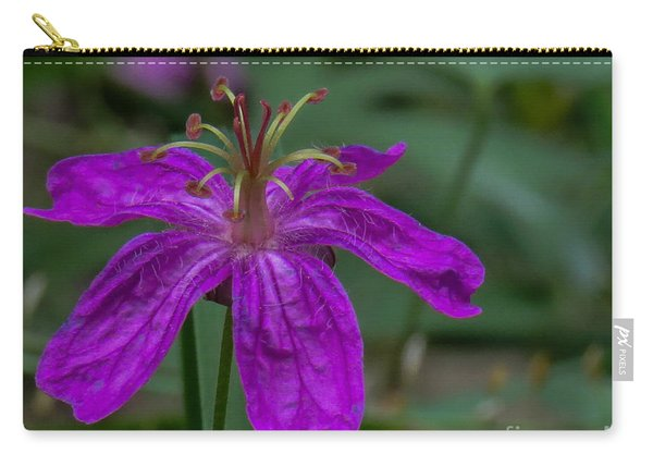 Purple Flower 5 Carry-all Pouch