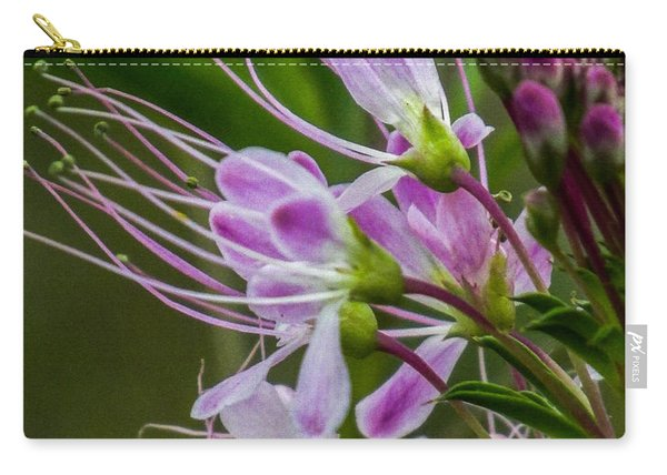 Purple Flower 6 Carry-all Pouch