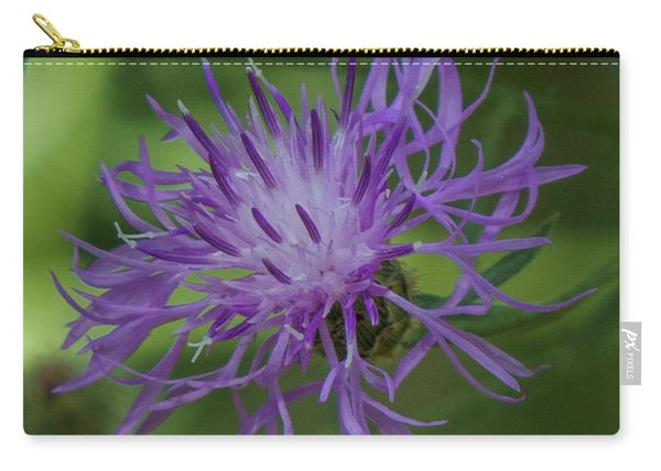 Purple Flower 8 Carry-all Pouch