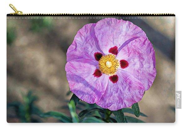 Purple Rockrose Carry-all Pouch