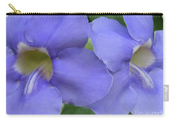 Purple Flower Picture Perfect Carry-all Pouch