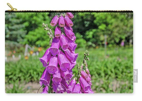 Purple Foxglove Digitalis Purpurea L Carry-all Pouch