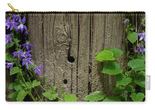 Purple Garland Carry-all Pouch