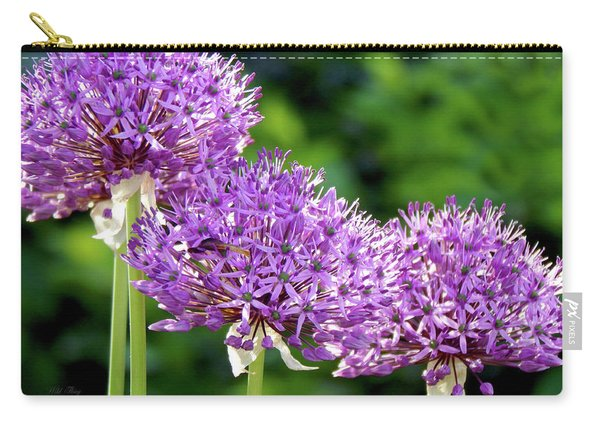 Purple Highlighted Carry-all Pouch