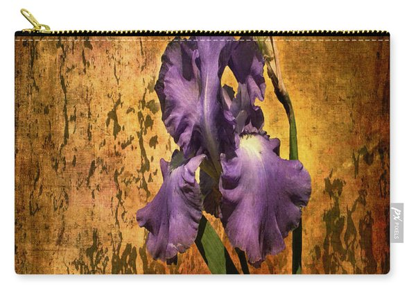Purple Iris At Sunset Carry-all Pouch