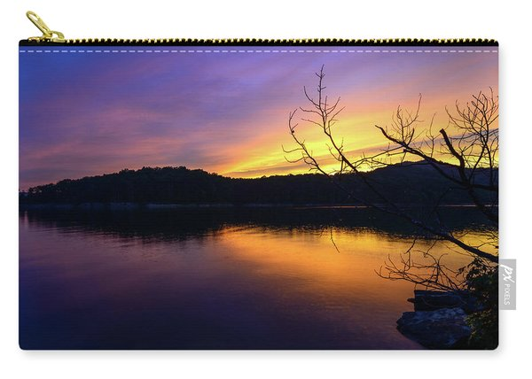 Purple Lake Carry-all Pouch