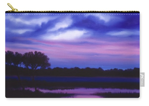 Purple Landscape Or Jean's Clearing Carry-all Pouch