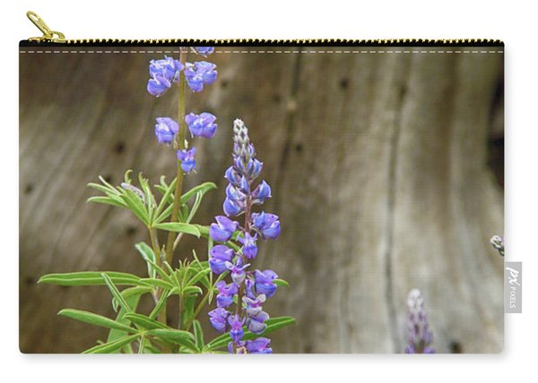 Purple Lupine Carry-all Pouch