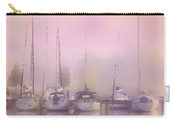 Purple Marina Morning Carry-all Pouch