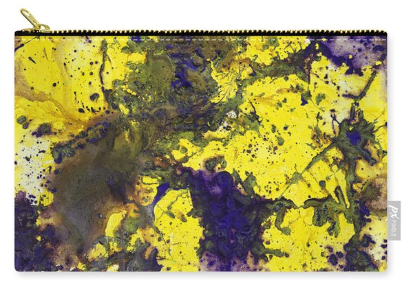 Purple Married Yellow Carry-all Pouch