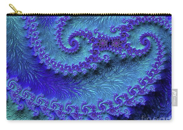 Purple Mountain Fjords Carry-all Pouch