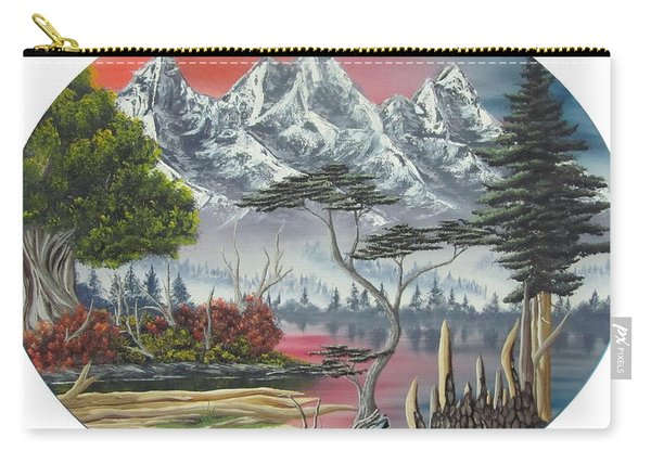 Purple Mountain Lake Carry-all Pouch