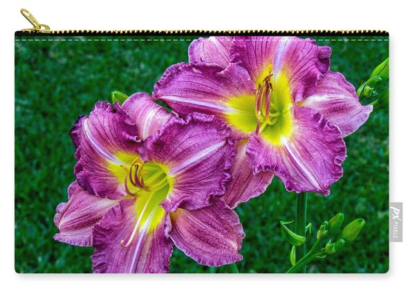 Purple Pair Carry-all Pouch