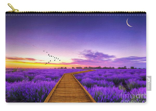 Purple Path Carry-all Pouch