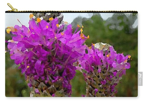 Purple Prairie Clover Carry-all Pouch