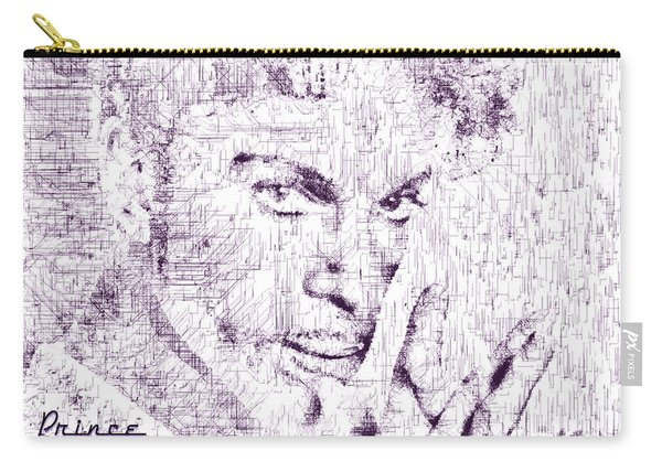 Purple Rain By Prince Carry-all Pouch