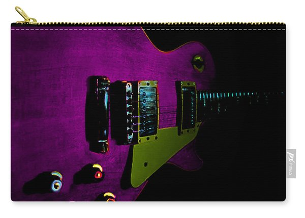 Purple Relic Les Paul II Hover Series Carry-all Pouch