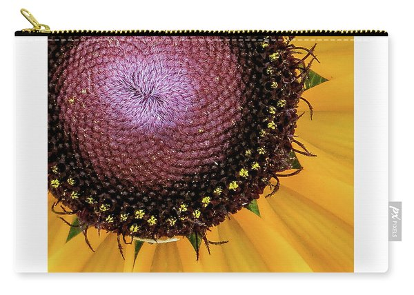 Purple Spirals Carry-all Pouch