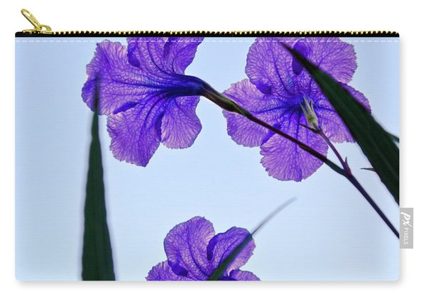 Purple Trio Carry-all Pouch
