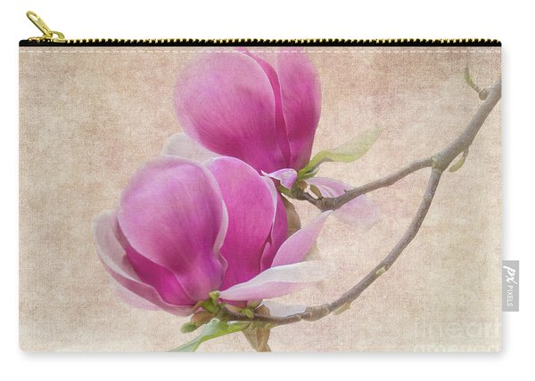 Purple Tulip Magnolia Carry-all Pouch