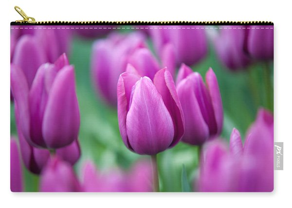 Purple Tulips Of Keukenhof Carry-all Pouch