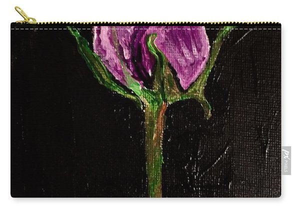 Purple Under The Moon's Glow Carry-all Pouch