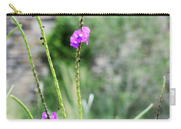 Purple Vebena Carry-all Pouch