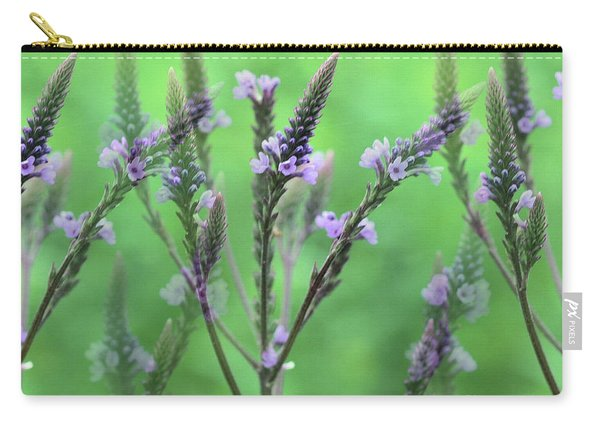 Purple Vervain Dreams Carry-all Pouch