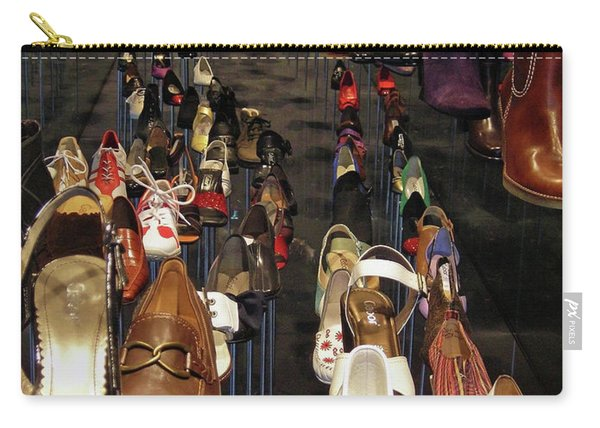 Put Your Shoes ... Carry-all Pouch