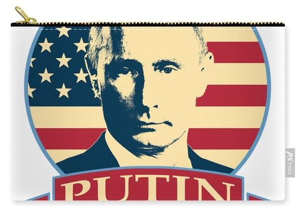 Putin For President American Banner Pop Art Carry-all Pouch