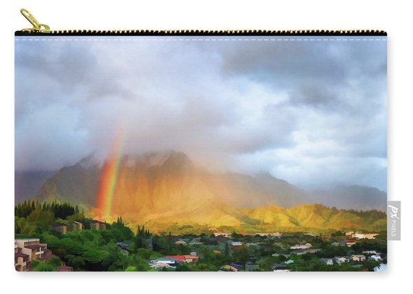 Puu Alii With Rainbow Carry-all Pouch