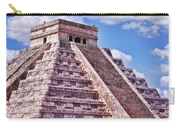 Pyramid Of Kukulcan At Chichen Itza Carry-all Pouch