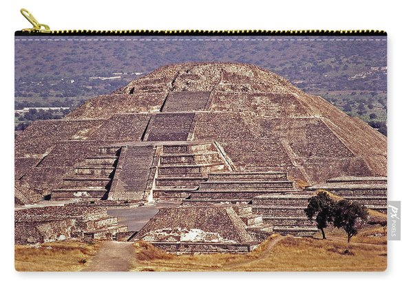 Pyramid Of The Sun - Teotihuacan Carry-all Pouch