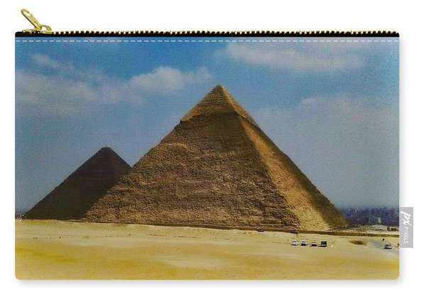 Pyramids, Cairo, Egypt Carry-all Pouch