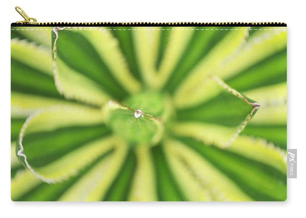 Quadricolor Agave Plant Carry-all Pouch