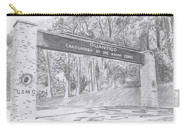 Quantico Welcome Graphite Carry-all Pouch