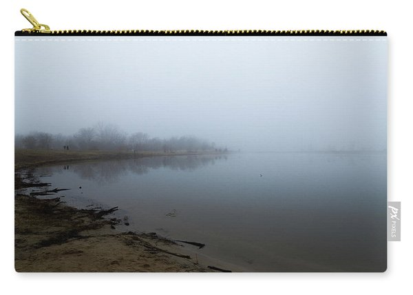 Quarry Lake - The Fog Series Carry-all Pouch