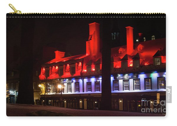 Quebec City At Night Bistro 1640 Carry-all Pouch