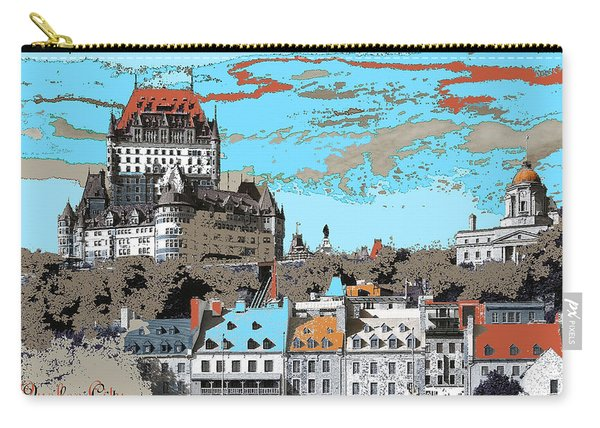 Quebec City Canada Poster Carry-all Pouch