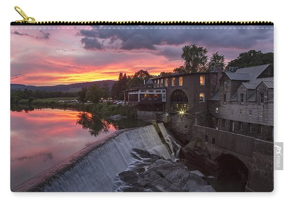 Quechee Vermont Sunset Carry-all Pouch