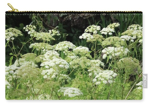 Queen Annes Lace Daucus Carota Carry-all Pouch