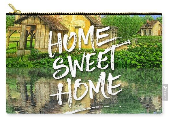 Queen Marie-antoinette Hamlet Cottage Versailles Paris France Carry-all Pouch