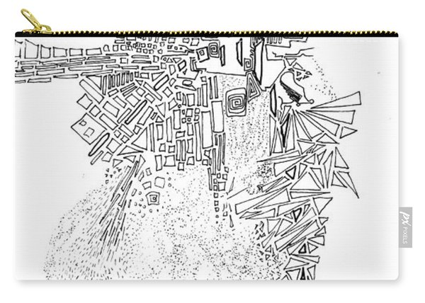 Queen Of The Afternoon Carry-all Pouch