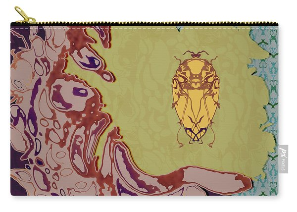 Queen Scarab Carry-all Pouch