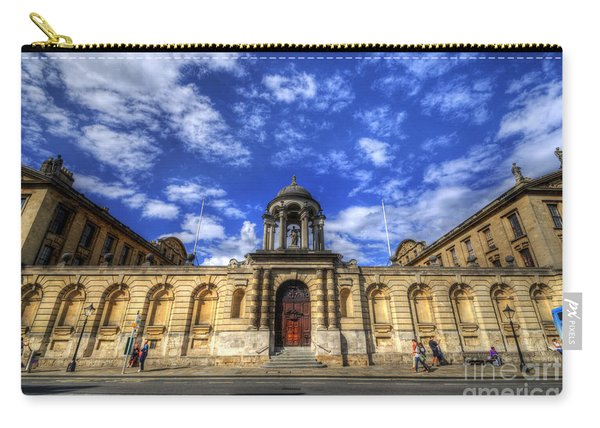Queens College - Oxford Carry-all Pouch
