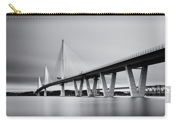 Queensferry Crossing Bridge Mono Carry-all Pouch