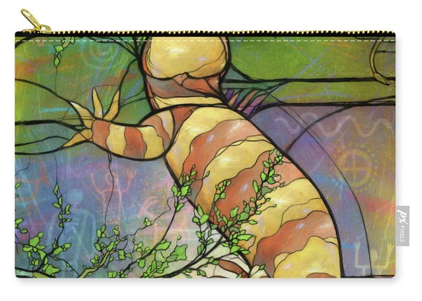 Quiet As A Mouse Carry-all Pouch