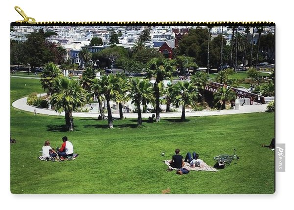 Carry-all Pouch featuring the photograph Quiet At #doloresgaybeach by Mr Photojimsf